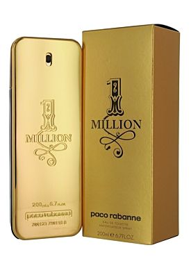 Paco Rabanne 1 MIllion Eau de Toilette 200 ml Vaporizador