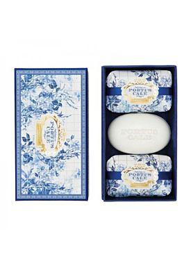 Castelbel Portus Cale Gold & Blue Jabón 3x150 gr.
