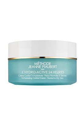 Jeanne Piaubert L'Hydro-Active 24H Crème Confort Tri-Hydratante Peaux N/S 50 ml