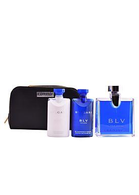 Bulgari BLV Pour Homme Estuche 100 ml Vaporizador + Gel 50ml + After Balm 50ml+ Neceser