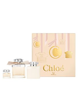Chloé  Eau de Parfum vaporizador 75 ml + Loción  100 ml + Mini  5 ml