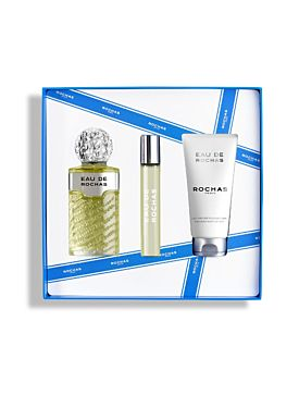 ROCHAS Eau de Rochas  EDT Vaporizador 220ml + 20ml vapo + Body Lotion 100ml