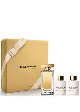 Dolce & Gabbana THE ONE EDT Estuche Eau de Toilette 100ml Vaporizador + Lotion + Gel