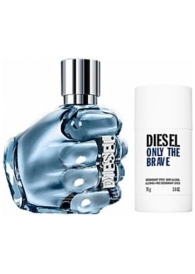 Diesel Only The Brave Estuche  Eau De Toilette 125 Ml Vaporizador + Deo 75ml