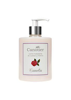 Canotier Leche Hidratante de Cuerpo y Manos de Camelia 500ml