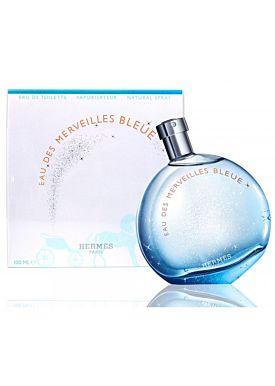 Hermès Eau des Merveilles Bleue  Eau de Toilette 100 ml Vaporizador