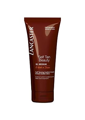 Lancaster Self Tan Cream Face &Body 02 Medium 125ml