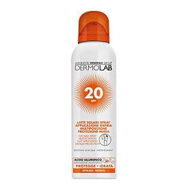 Dermolab Leche Solar Rostro Y Cuerpo – Spf 20  Bruma 250ml