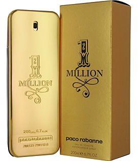 Paco Rabanne 1 MIllion Eau de Toilette 200 ml Vaporizador