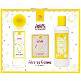 Álvarez Gómez Agua de Colonia para Niños Estuche 175 ml + 10 toallitas + Lotion 300ml