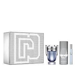 Paco Rabanne INVICTUS vaporizador 100 ml + Desodorant 150 ml + mini vapo. 10 ml