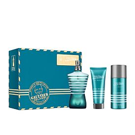 Jean Paul Gaultier Le Male Estuche EDT Vaporizador 125 ml + Gel 75 ml + Dte. 150 ml