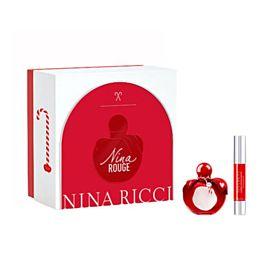 Nina Ricci Estuche Nina Rouge Eau De Toilette Vapo 50ml + Barra de labios