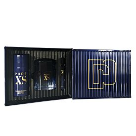 Paco Rabanne PURE XS Estuche 100 ml Vaporizador + Mini 10 ml + Desodorante 150 ml