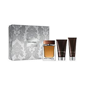Dolce & Gabbana THE ONE For Men EDT 100ml Vaporizador +Balm 75ml+ Gel 50ml