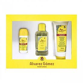 Álvarez Gómez Concentrada Estuche 150 ml Vaporizador + Gel de Baño 230 ml + Dte Roll-On 75 ml