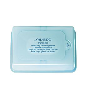 Shiseido Pureness Refreshing Cleansing Sheets 30 unidades