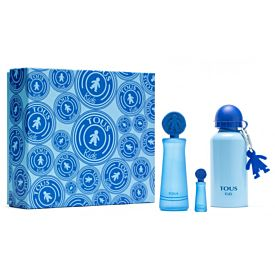 Tous Tous Kids Boy Estuche EDT 100ml Vaporizador +Mini 4ml + Cantimplora