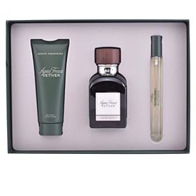 Adolfo Dominguez Estuche Vetiver Eau de Toilette Vapo 120ml +Gel 75ml+mini 10ml